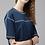 Thumbnail: Casual Regular Sleeve Blue top