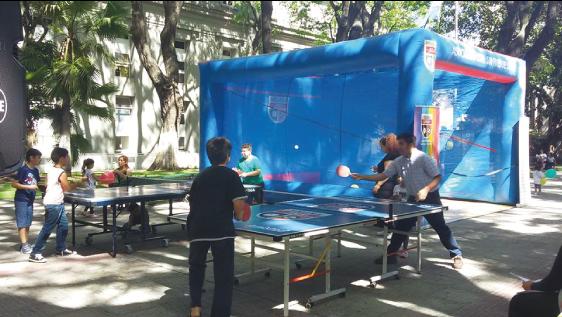 Cancha inflable de squash, para nuestros eventos deportivos
