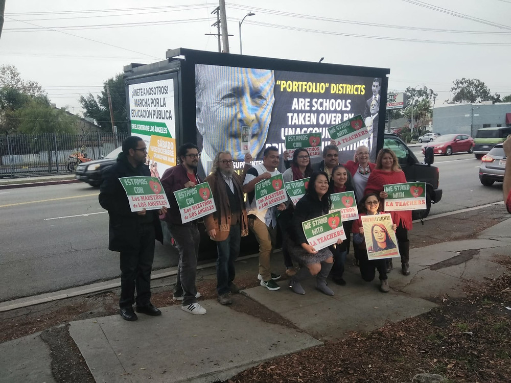 UTLA digital billboards campaign