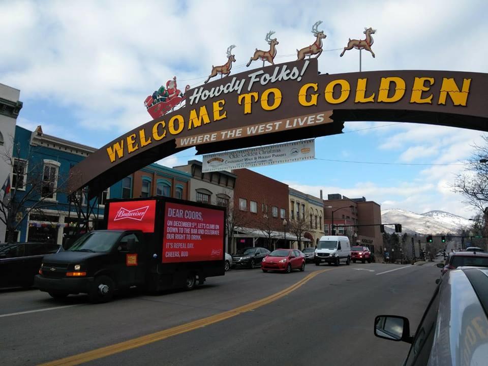 Budweiser digital billboard campaign