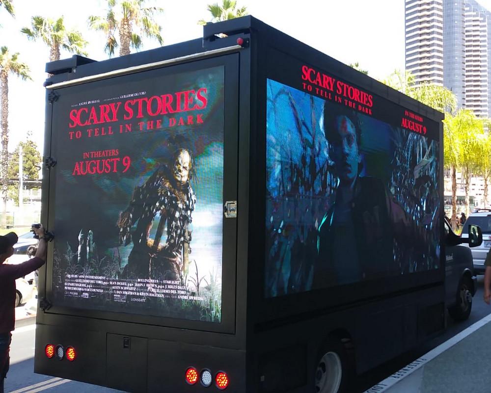 Lionsgate digital billboard campaign