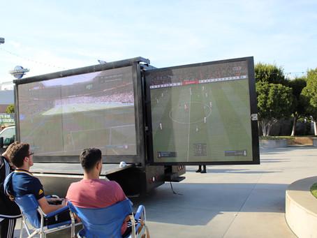 LED TRUCK e LA Galaxy se unem para divertir os torcedores