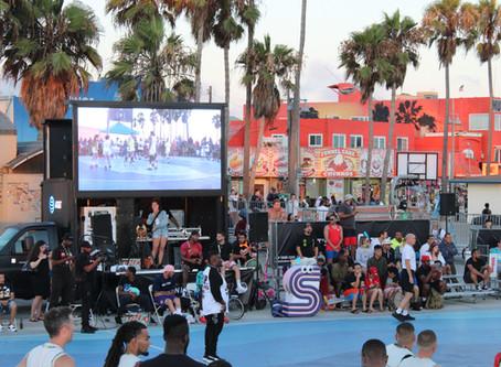 Venice Beach encerra mais uma temporada de basquete