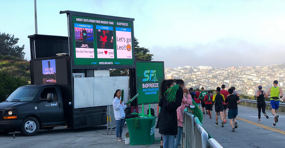 Biofreeze digital billboard campaign
