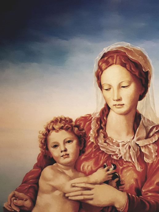 Retable Vierge et l'Enfant