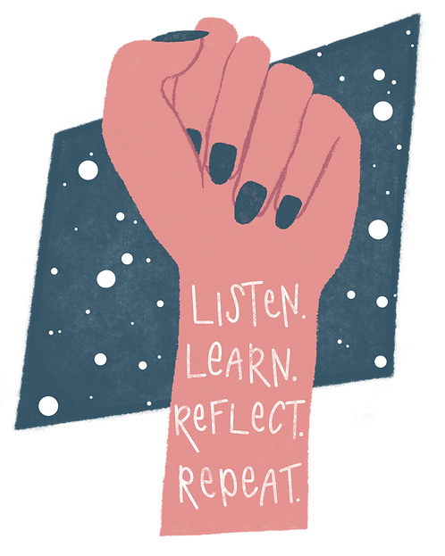 Listen. Learn. Reflect. Repeat.