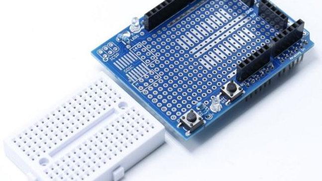 Shield Protoboard Protoshield Arduino Uno + Breadboard 170