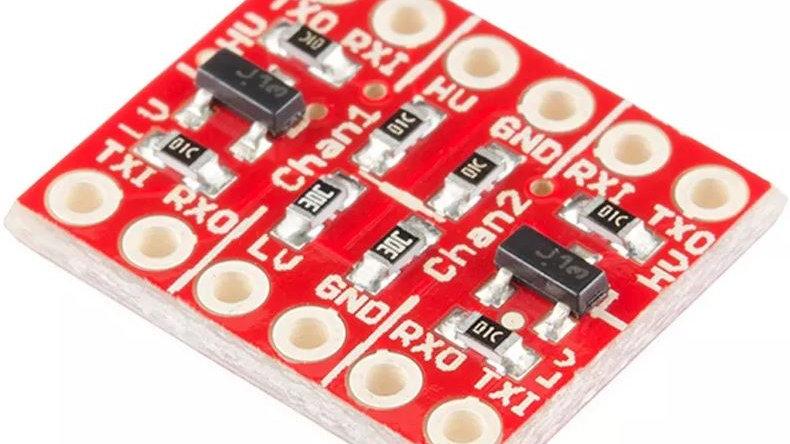 Convertidor Adaptador Niveles Logicos 5v 3v3 Arduino