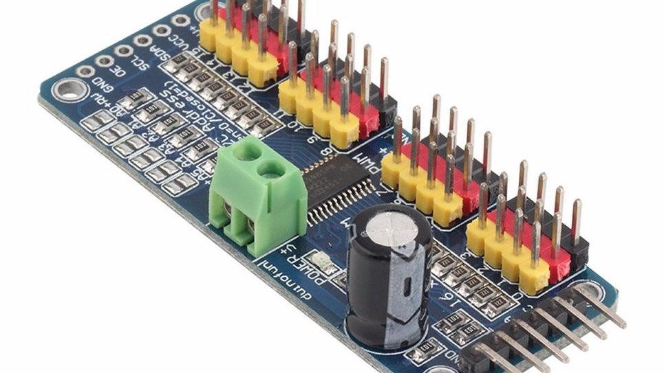 Controlador Servos 16 Canales I2c Pca9685 Pwm Arduino