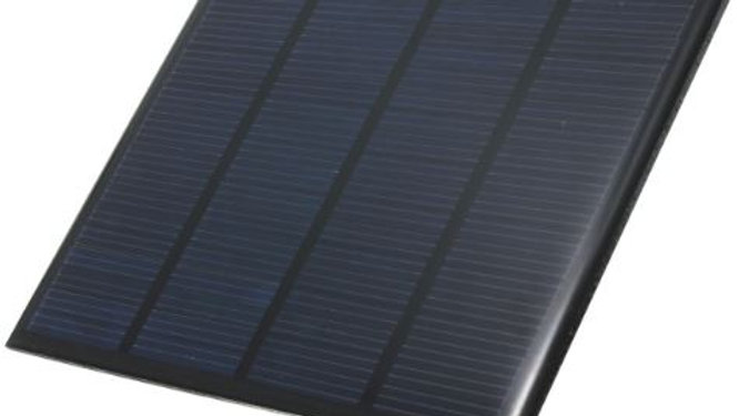 Panel Solar Policristalino Encapsulado Epoxy 6v 0-250ma 112x91mm