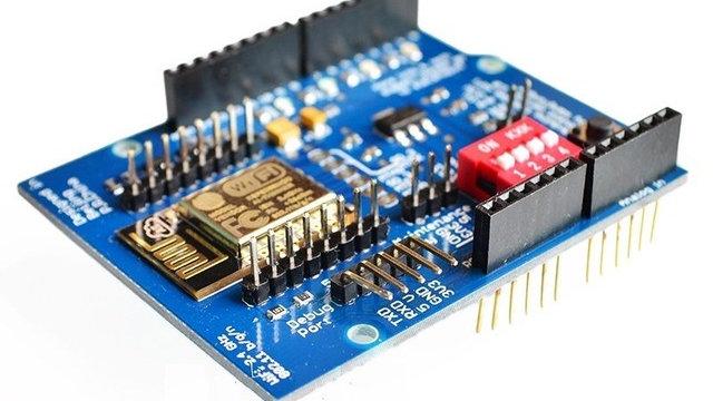 Arduino Shield Wifi Uno R3 Esp8266 Esp-12e Uart Wireless