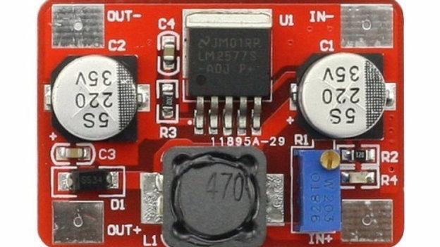 Lm2577 Step Up Ajustable De 4v A 35v 2a Conversor Dc Dc