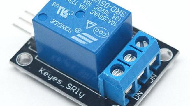 Módulo Rele 5v Simple Inversor Contactos De 10a 220v