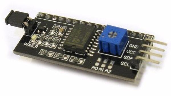 Adaptador Paralelo-serie I2c, Lcd, Expansor de puertos