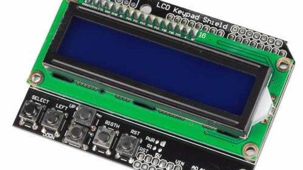 Display Lcd 1602 Botonera Teclado Arduino Shield