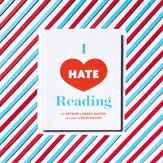 I Hate Reading ISBN 9780692842829