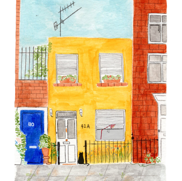 Study of a house in Kentish Town West, 2020