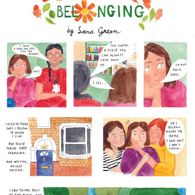 "Belonging, ""Mind Body Spirit"" Magazine,"