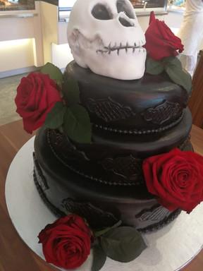 Hochzeitstorte Black