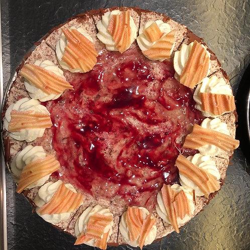 Schoko-Sahne Torte