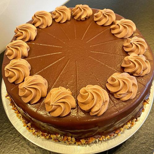 Baumkuchen-Schokobuttercreme Torte
