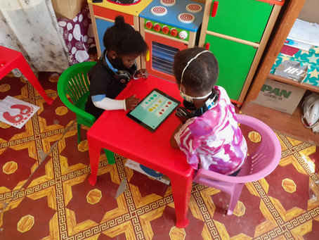 The best technology for under 5s comes to Ngqushwa!