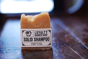 Loyalty Barber Shop Solid Shampoo
