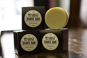 Loyalty Barber Shop Shave Puck