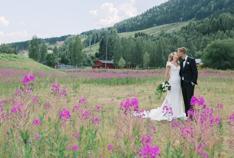 Bröllopsfotograf Branäs