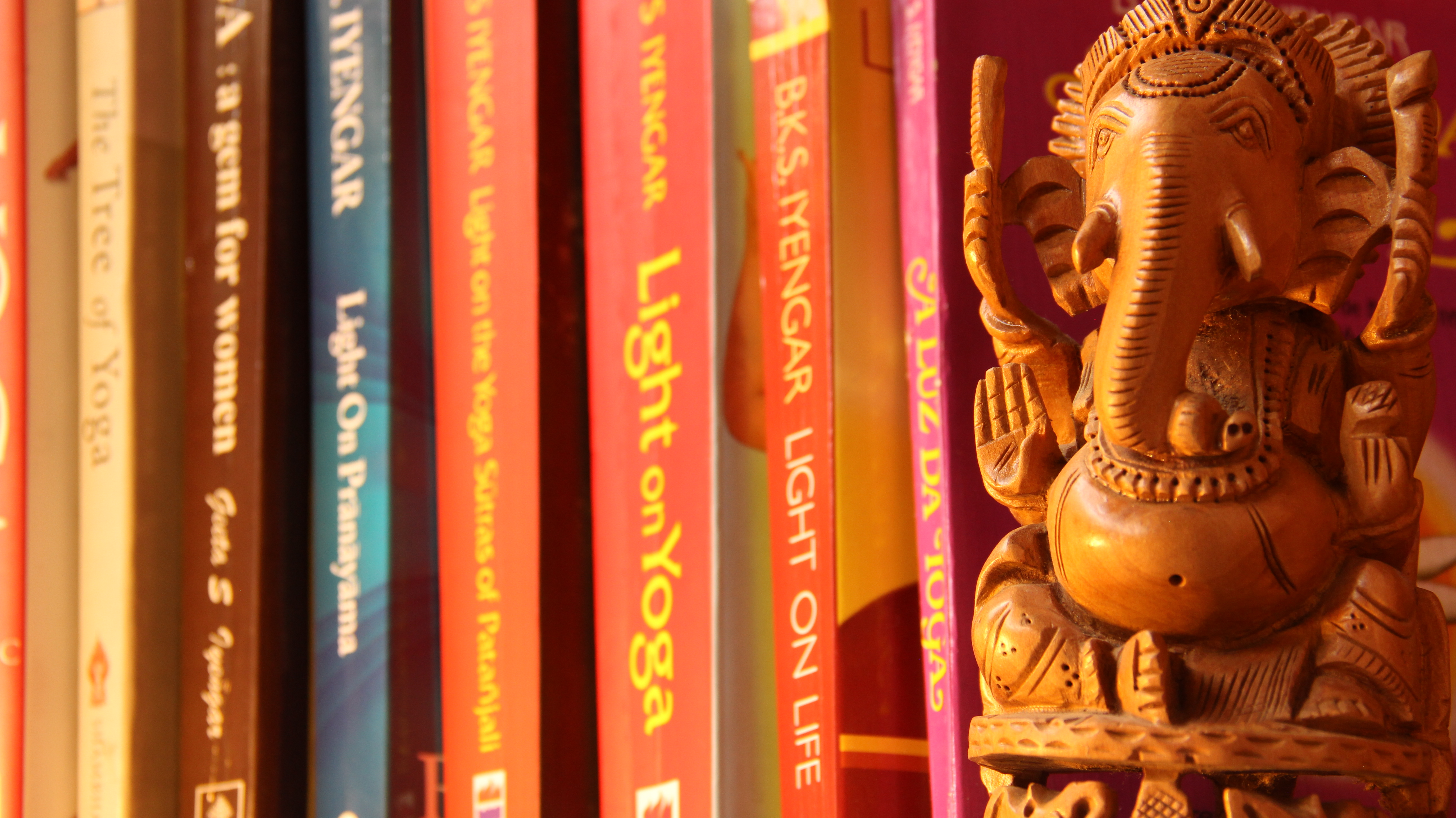 Iyengar livros foco no Ganesha.JPG