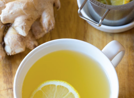 Immunity Boosting Ginger & Lemon Tea