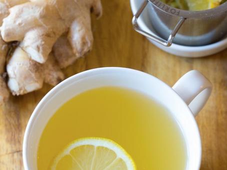 Immunity Boosting Ginger & Lemon Tea