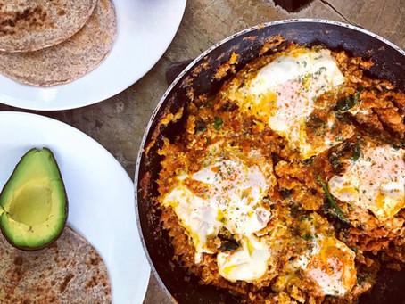 Healthy Huevos Rancheros