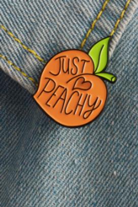 Just Peachy Pin