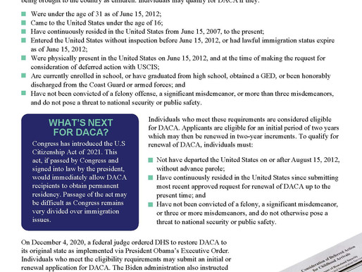 All About DACA