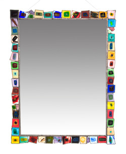 """Xlg """"Powder Room"""" Mirror, Custom Sizes and Colors Welcome"""