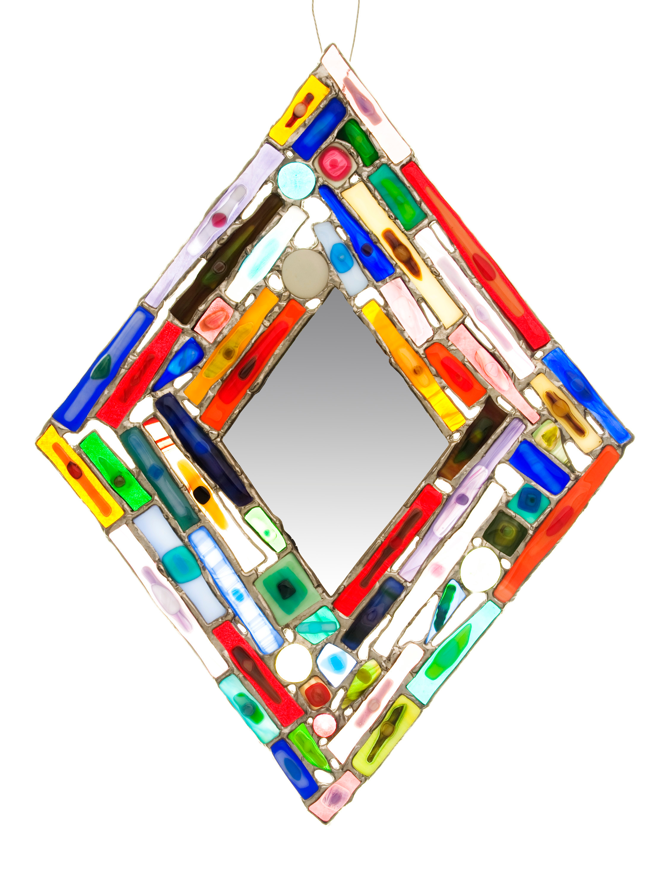 Diamond Collage Mirror