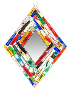 Diamond Collage Mirror