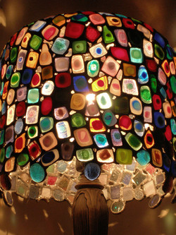 Artsy Lamp Close-up