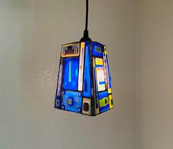 3-Sided Hanging Pendant Lamp