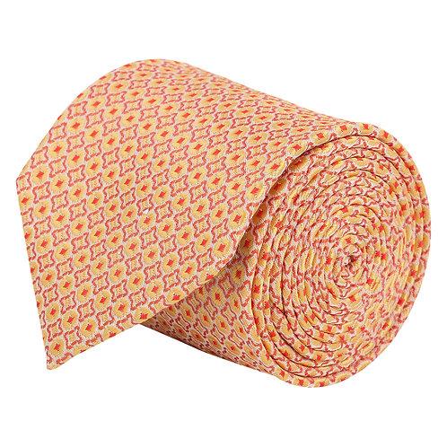 Barata Formal Ties For Men, Orange Tie Formal Broad (Orange8.8cmG1