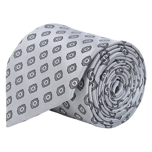 Barata Formal Broad Ties For Men,Grey Tie