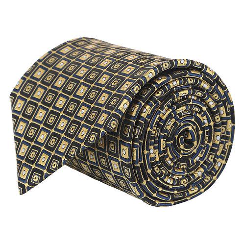 Barata Formal Ties For Men, Black Tie Formal Broad (Black8.8cmG1)