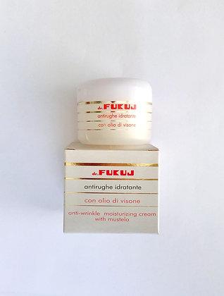 ANTI-WRINKLE CREAM - Crema con Olio di Visone Antirughe Idratante Pelli Secche