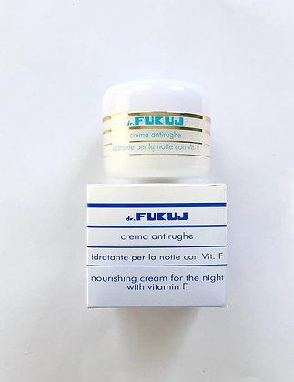 NIGHT CREAM - Antirughe Idratante con Vitamina F