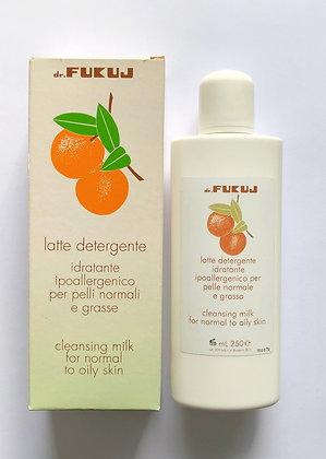 CLEASING MILK - con Arancia Pelli Normali e Grasse
