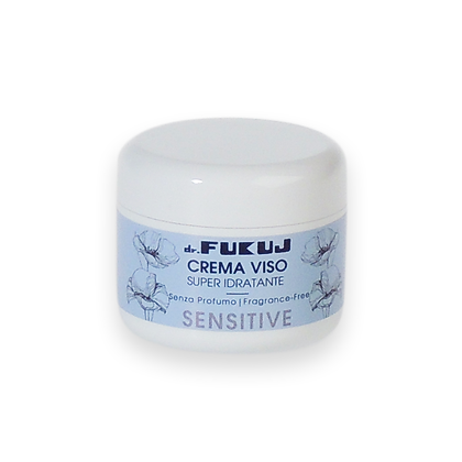 Face cream for sensitive skin without perfume