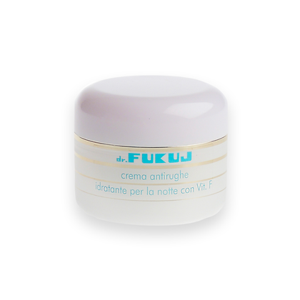 Anti-wrinkle Moisturizer for the Night with Vitamin F ml 50