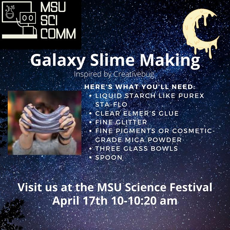 Galaxy Slime Making