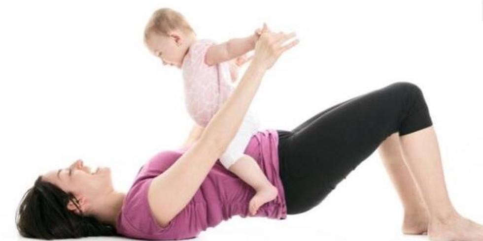 Rückbildung gemeinsam mit deinem Baby/Kind